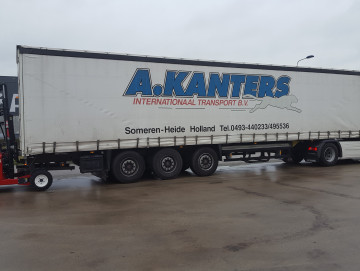 Stage 5 voor A. Kanters Internationaal Transport B.V.